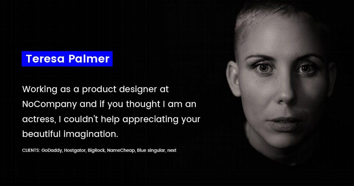 Download Singular Minimal Personal Portfolio Template by YDirectionThemes