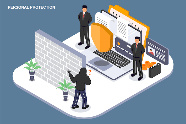 Personal Protection - Ilustration Template