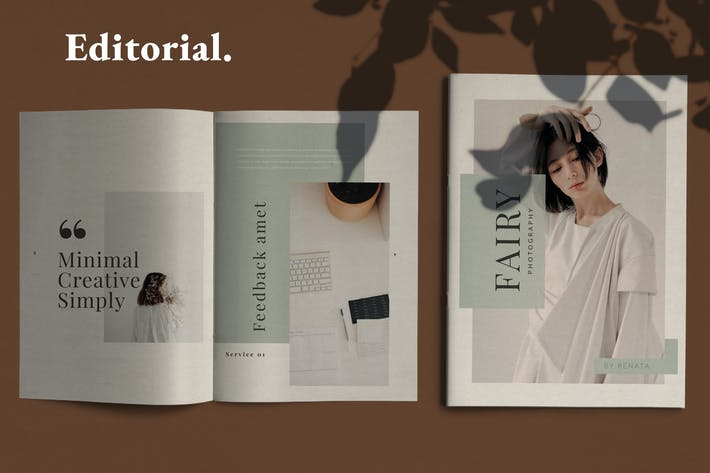 Thumbnail for Fairy - Lookbook Brochure Business Company