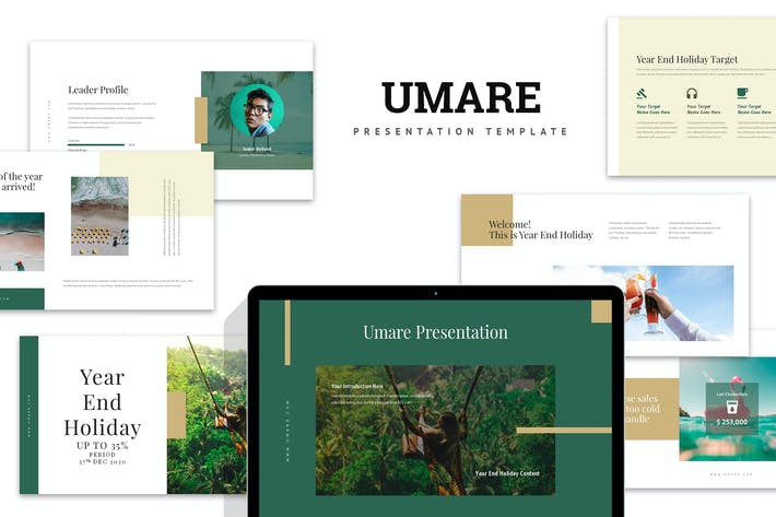 Thumbnail for Umare : Year End Vacation Promo Keynote