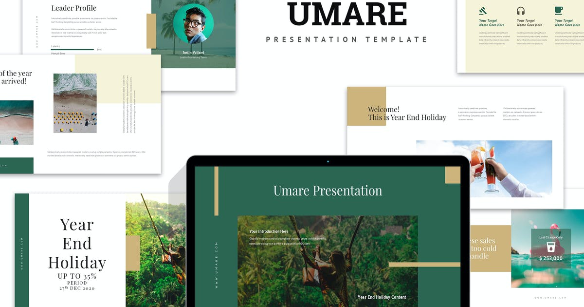 Download Umare : Year End Vacation Promo Keynote by punkl