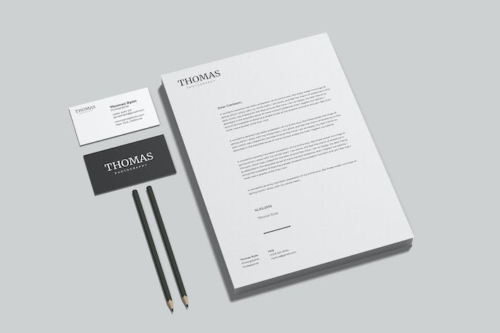 Thumbnail for Brand Identity and Stationery - Mockup