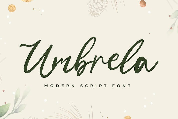 Thumbnail for Umbrela Modern Script