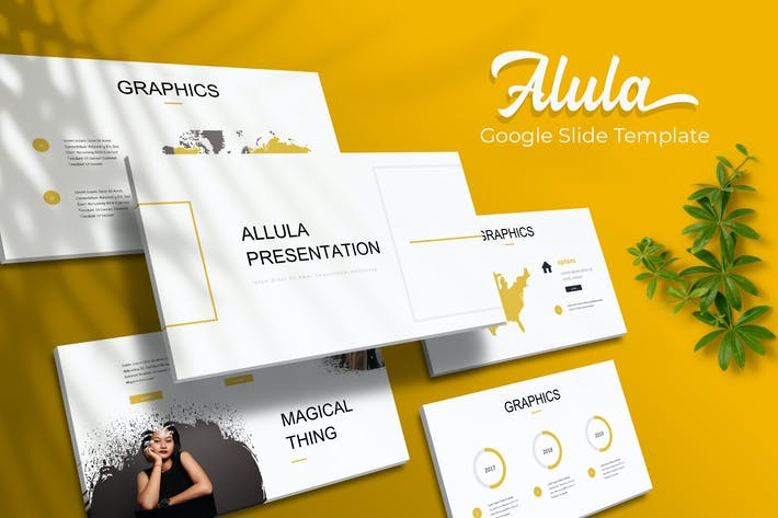 Alula Brush - Google Slide Template