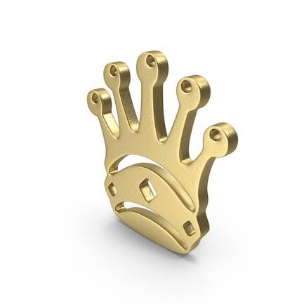 Queen Logo Gold