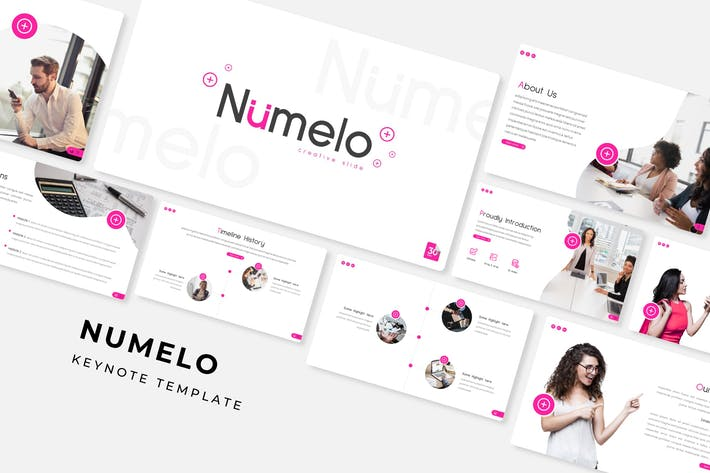 Thumbnail for Numelo - Keynote Template