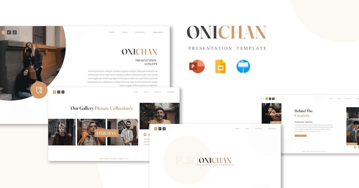 Download Onichan - Presentation Template by Fannanstudio