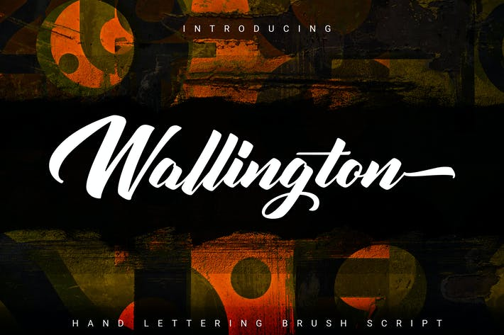 Thumbnail for Wallington | Hand Lettering Brush Script