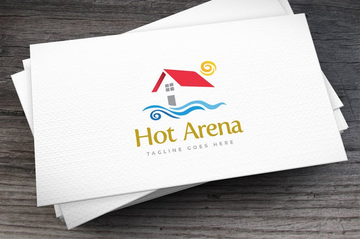 Thumbnail for Hot Arena Logo Template