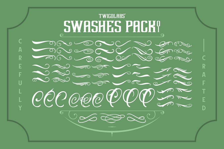 Twicolabs Swashes Pack