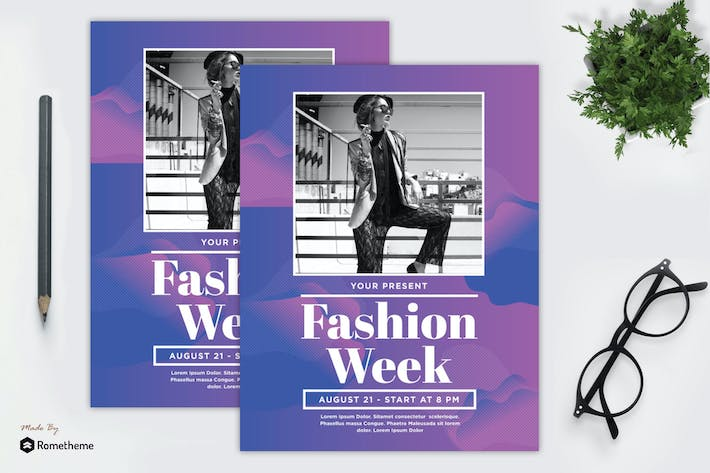 Thumbnail for Fashion Week Flyer vol. 01 MR