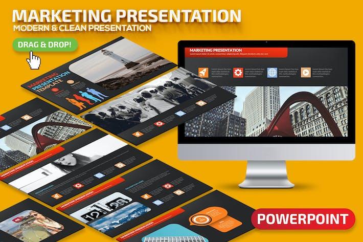 Thumbnail for Marketing-Powerpoint-Präsentation