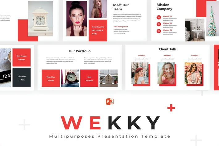Thumbnail for Wekky - Powerpoint Template