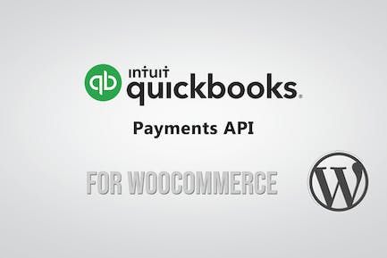 QuickBooks Payment API Gateway for WooCommerce