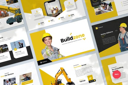 Construction & Building PowerPoint Template