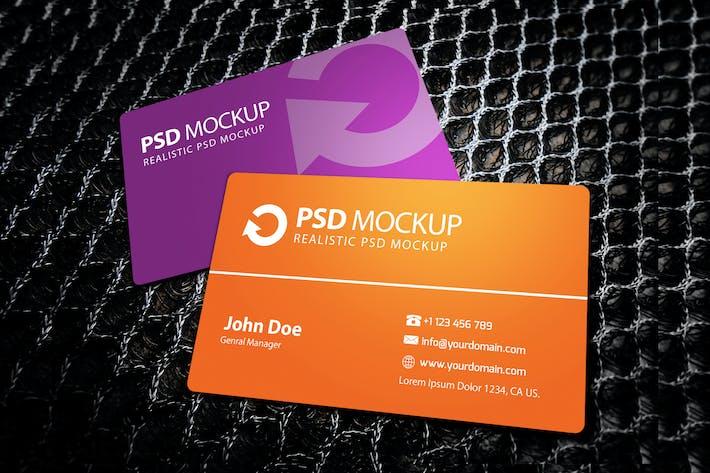 Thumbnail for Fresh Business Card Mockup #2
