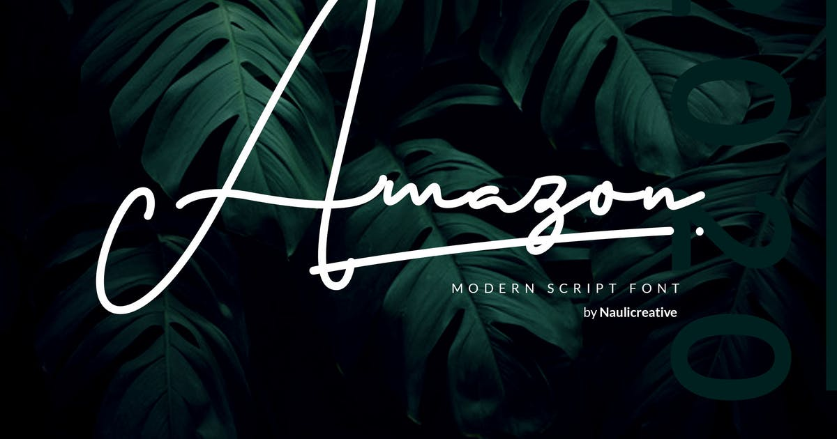 Download Amazon - Elegant Script by naulicrea