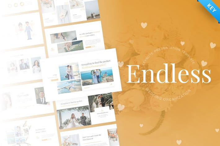 Endless - Marriage Keynote Presentation Template