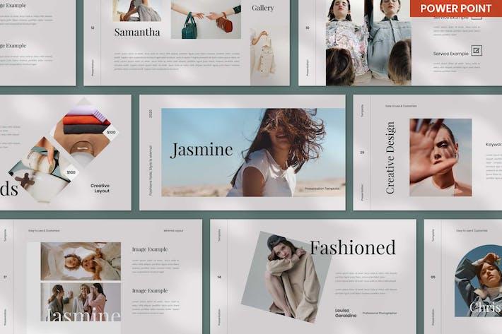 Jasmine Fashion PowerPoint