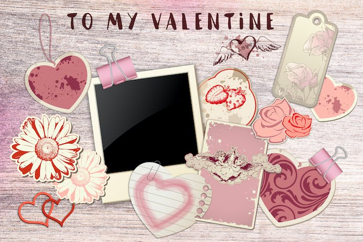 Thumbnail for Vintage Romantic Design Kit