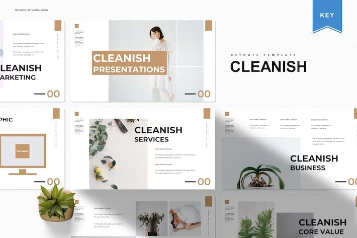 Очистка | Шаблон Keynote