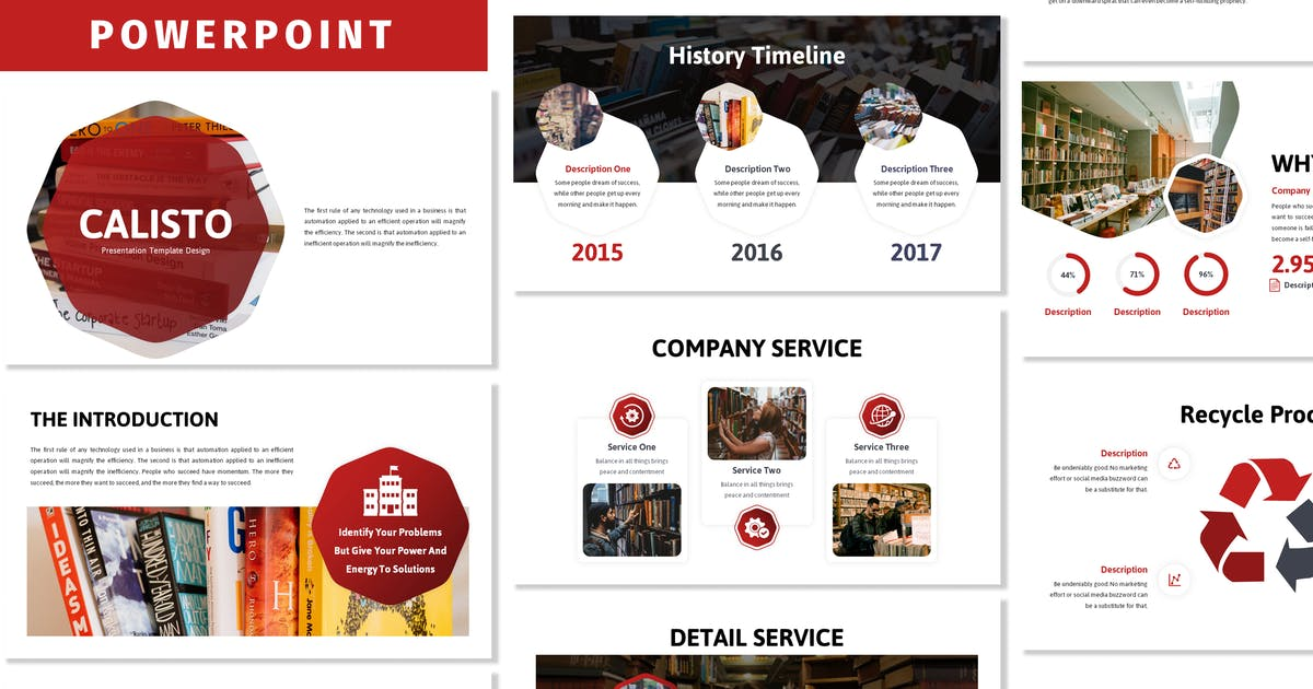 Download Calisto - Business Powerpoint Template by Blesstudio