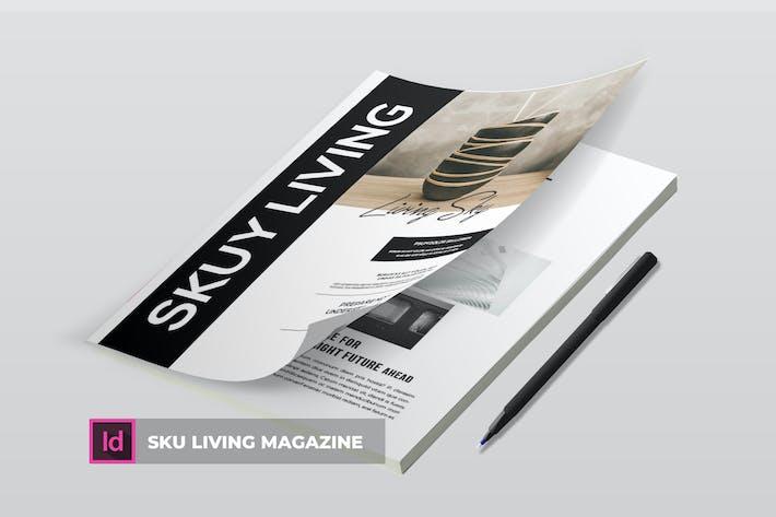 Thumbnail for Sku Iiving ssss | Magazine Template