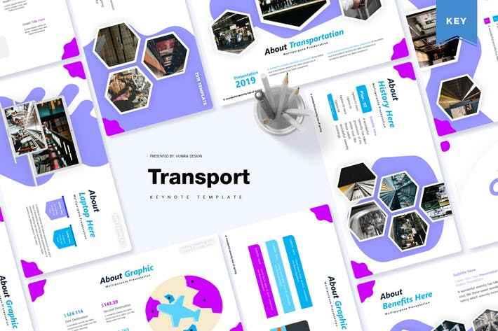 Thumbnail for Transport | Keynote Template