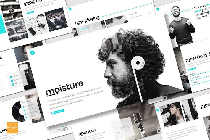 Cover Image For Moisture - Google Slides Template