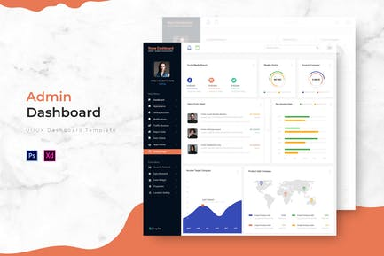 None Dashboard | Admin Template