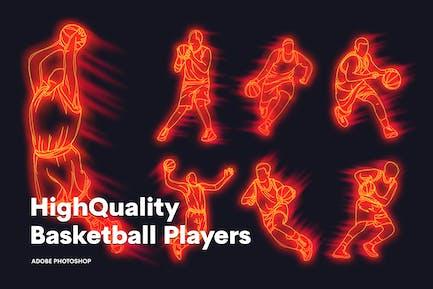 Hochwertige Basketballspieler