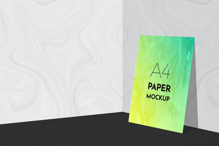 Thumbnail for A4 Paper Mockups