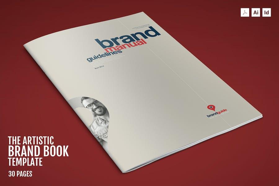 The Artistic – Brand Book Template