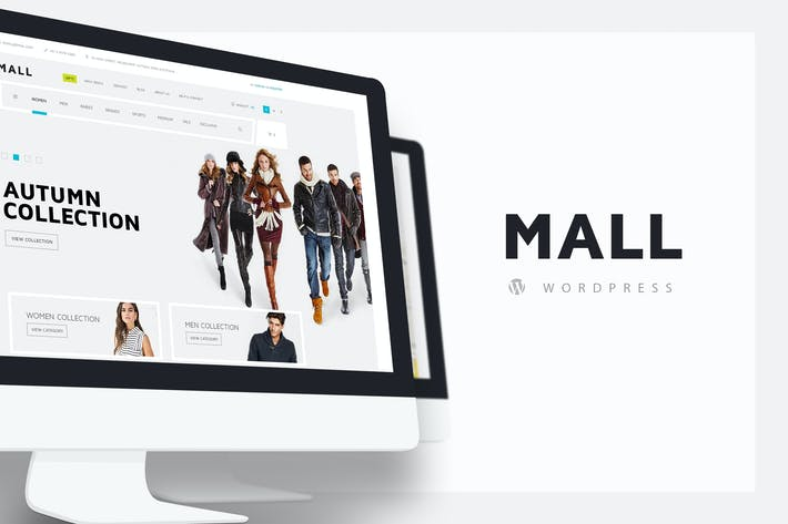 Thumbnail for Mall — WooCommerce Responsive WordPress Theme