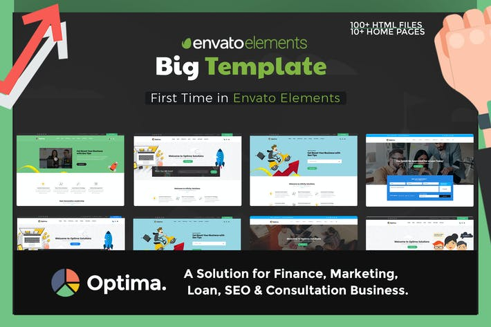 Cover Image For Optima - Multiple solutions for Consultation HTML5