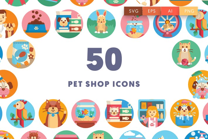 Thumbnail for Pet Shop Icons