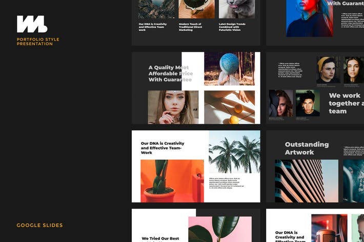 Cover Image For Marven - Creative Agency Google Slides Template