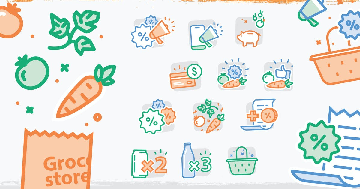 Download Supermarket Vector illustration by iconsoul