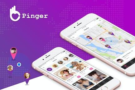 Pinger - Dating UI Kit