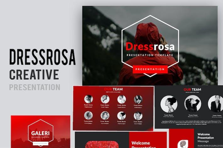 Thumbnail for Dressrosa Творческий Powerpoint