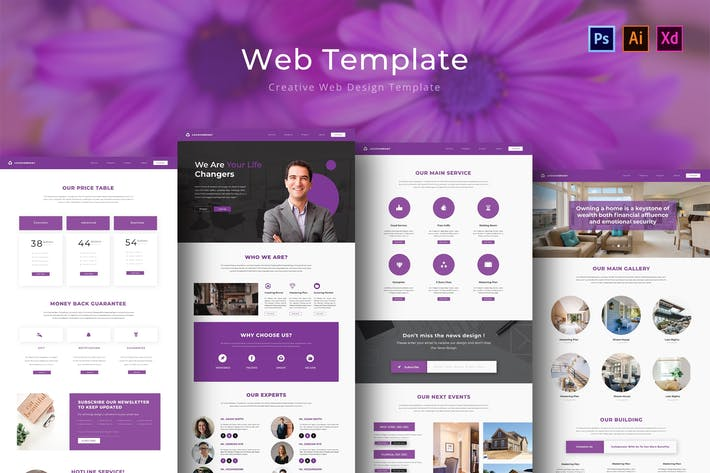 Thumbnail for Real Estate Web Template
