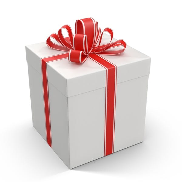 Cover Image for Gift Box With Red Ribbon