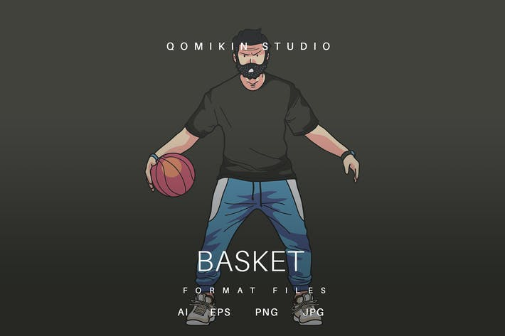 Thumbnail for Basket Illustration