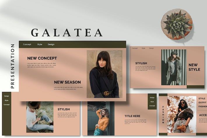Thumbnail for Galatea Stylish - Fashion Google Slides