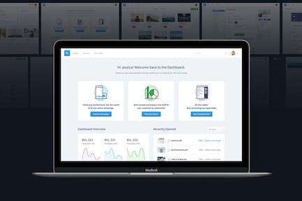 Dashboard UI Kit | Admin Vorlage & UI Framework