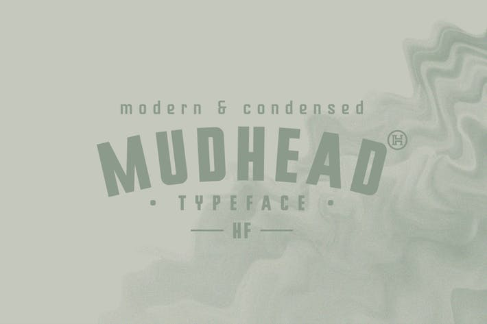 Thumbnail for Mudhead Typeface|A Powerful Sans Serif Font