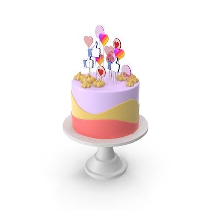 Cake for Social Media