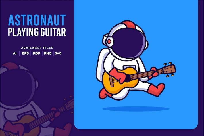 Thumbnail for Astronaut spielt Gitarre