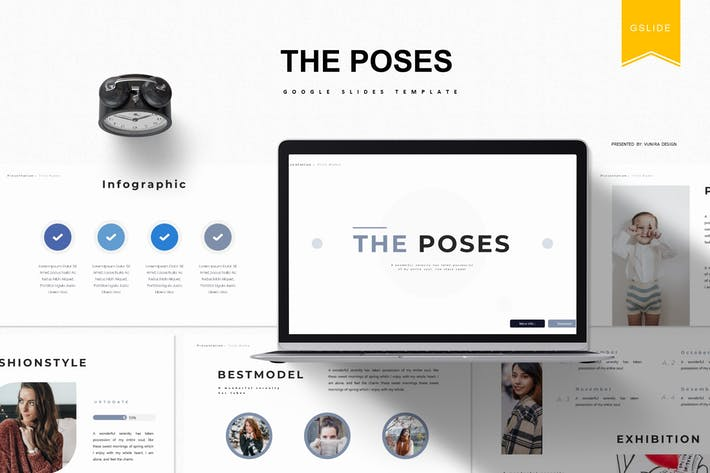 Cover Image For The Poses | Google Slides Template
