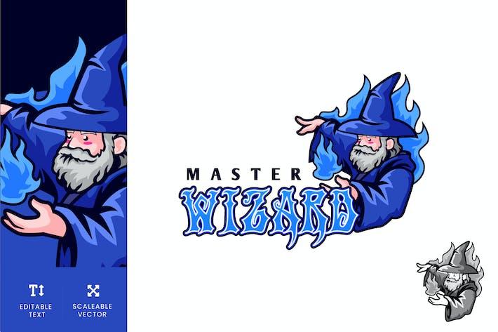 Thumbnail for Master Wizard Education Logo Illustration Vector